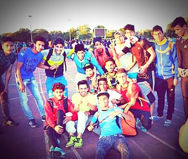Butiful♥ THESE Are My Friends Iam Very Happy With My Friends In Champions Iraq