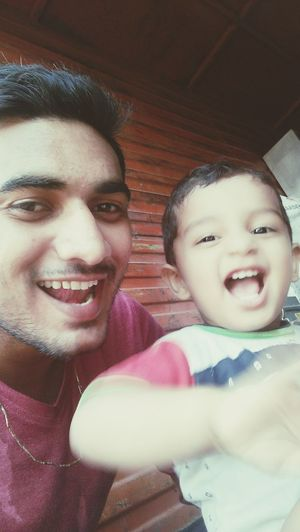 Cutiepie Masti Funny Moments With Babyboy His Expression Face <3 His Cuteness Laughing Smiling Awesome