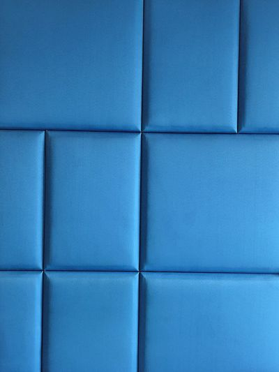 Blue wall with