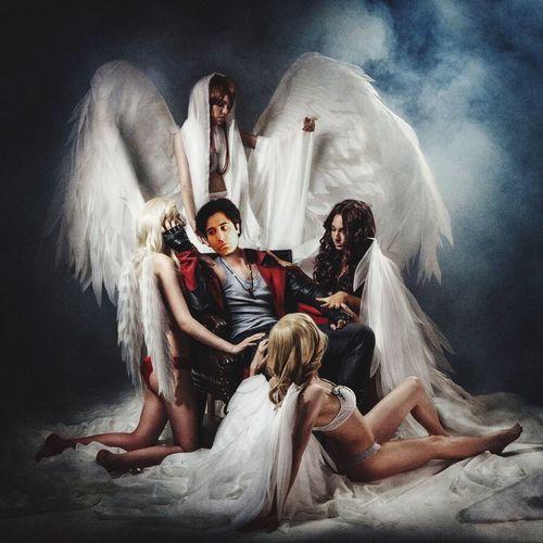 The fallen angels Dead Death Devil Angel Fantasy Devilmaycry Heaven Hello World Hell Babes Hottie Sexygirl Paiting Desi Punjabi