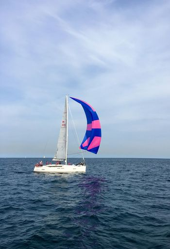 Sail Away, Sail Away Sea Sea And Sky Sailboat Sail Sailing Colourful Halfcenturytraveller Yachting Yacht