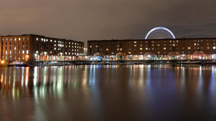Albert Dock at
