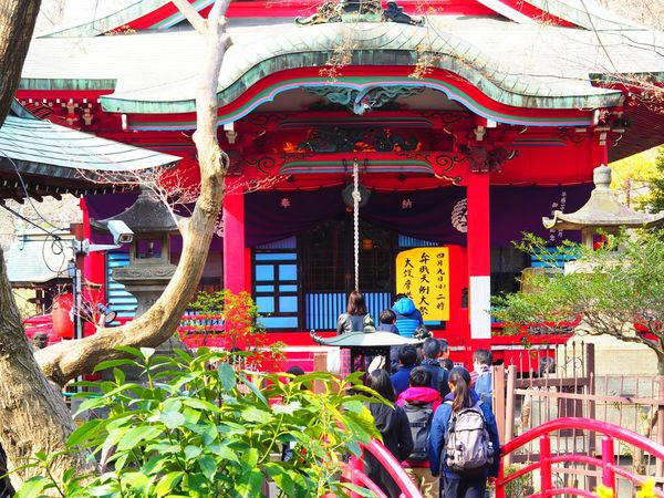 Red Architecture Built Structure Building Exterior People Inokashira Park Inokashira Kichijoji Tokyo Tokyo,Japan Japan Photography Park Olympus OM-D E-M5 Mk.II
