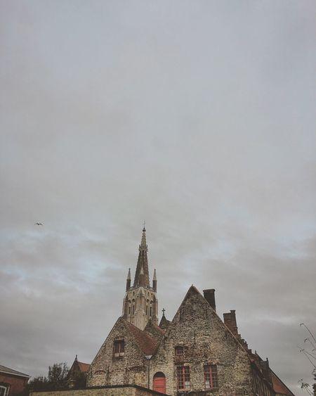 Brugge Belgium Bruges Cathedral Grey Impressive View First Eyeem Photo