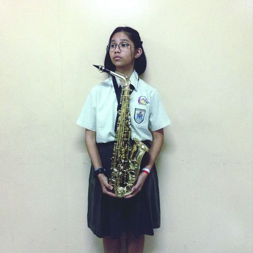 i play the saxiest instrument One Person People Day Young Women Real People Saxophone Saxophonist Saxophone Player Saxophonelife Saxophone Girl