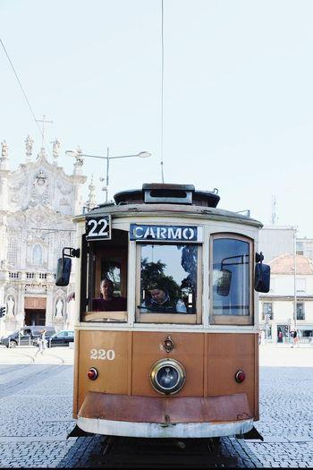 Porto Tramway Tramway Porto Porto Portugal 🇵🇹 Eléctrico Porto Public Transportation Public Transport Tram No People