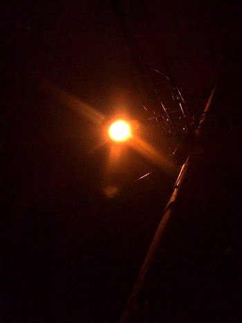 Lamppost Street Lights Night Photography Old Phone Photo Learn & Shoot: Single Light Source