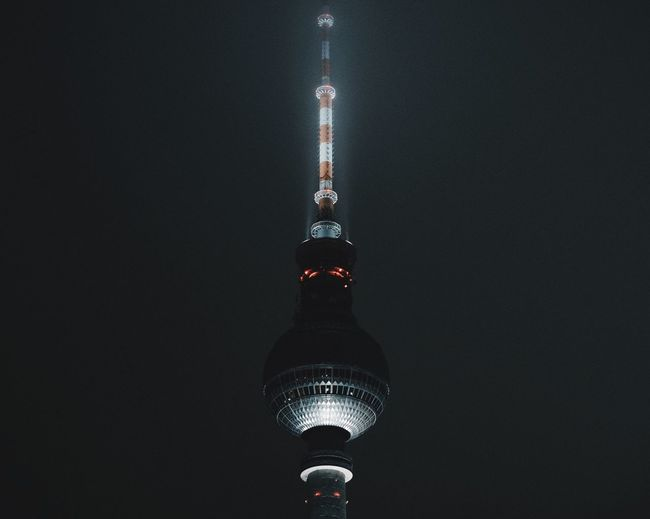 Berliner Fernsehturm Eyeem Berlin EyeEm Masterclass EyeEm Best Edits EyeEmBestPics EyeEm Selects EyeEm Gallery EyeEm Best Shots Architecture Illuminated No People Lighting Equipment Night Communication Built Structure Travel Destinations Television Tower Building Exterior Close-up