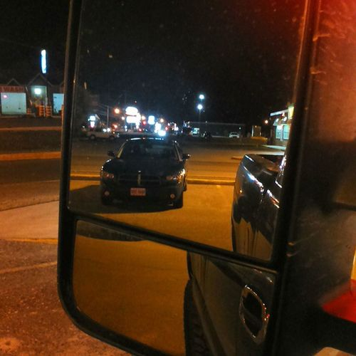 Dodge creeping in the background ;) lol Chevy Towmirrors Dodge Funny awesome timmies
