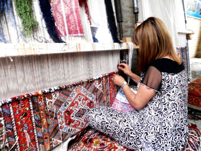 Local craftswoman Feelthejourney Crafts Handmade Bukhara Uzbekistan Feel The Journey