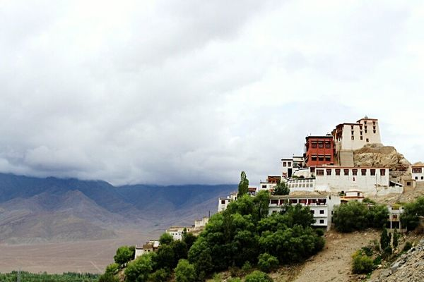 Monastery Buddhism Building Exterior Ladakh June 2016 Incredible India Ladakh_lovers Architecture Jammu And Kashmir Original Experiences Thiksey Travel Photography Blue Sky Feel The Journey Thikseymonastery Mountainscape Beauty In Nature Landscape_Collection Clouds Landscape_photography Building On Mountain Top Exterior View Monastry Pilgrimage Beautifully Organized