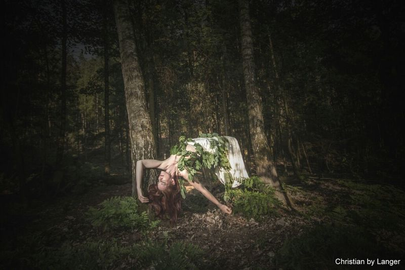 Aus dem Schooting mit Petra. Model: LiBella. Check This Out Modling Levitation Forest