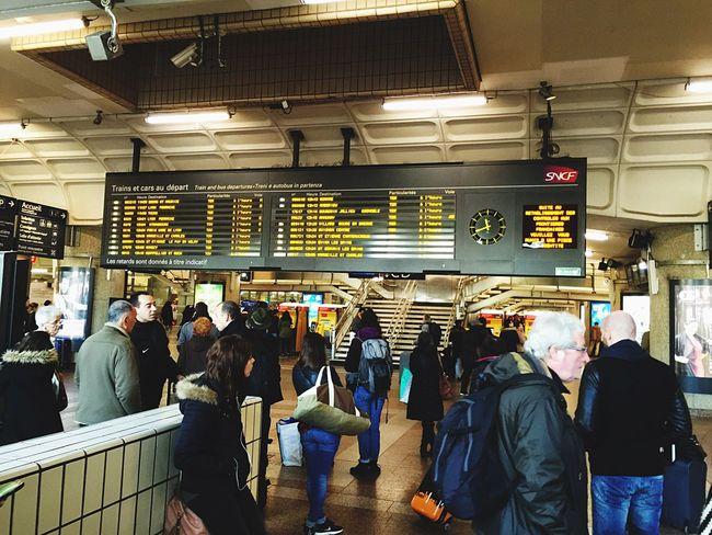 Sncf Part-Dieu Gare Lyon Tourists People
