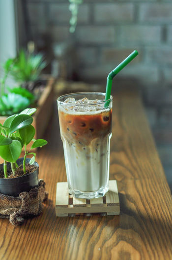 Iced Latte Food