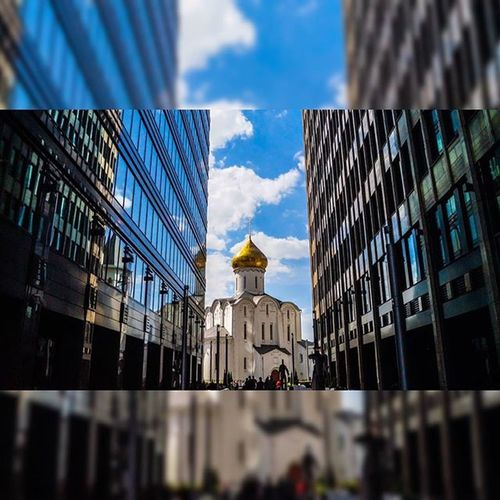 Architecture Amazing Sky Instasize Msk Moscow City Russia Photography Photo Geometry Москва МояМосква Instagram Instagram_архитектура 🎈👻