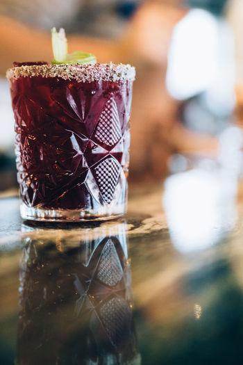 Close up cocktail