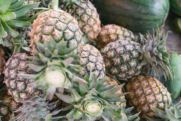 Artichoke Close-up Day Food Food And Drink Freshness Fruit Healthy Eating Market No People Outdoors Pineapple Retail
