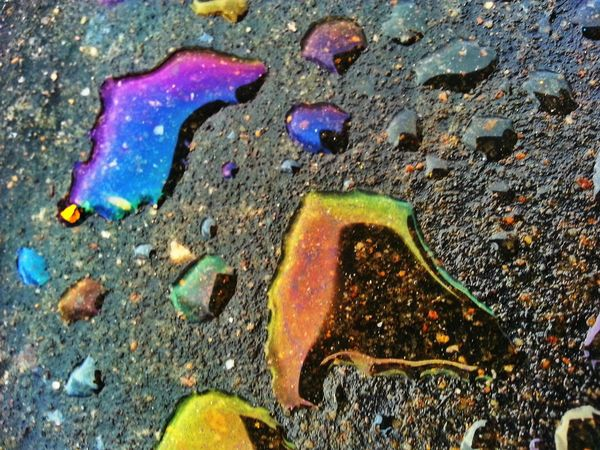 Oil Rain Rainbow The EyeEm Facebook Cover Challenge