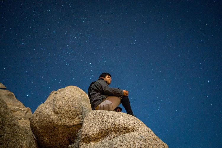 Astronomy Beauty In Nature Dark EyeEm Gallery Landscape Night Portrait Relaxation Sky Star Week On Eyeem