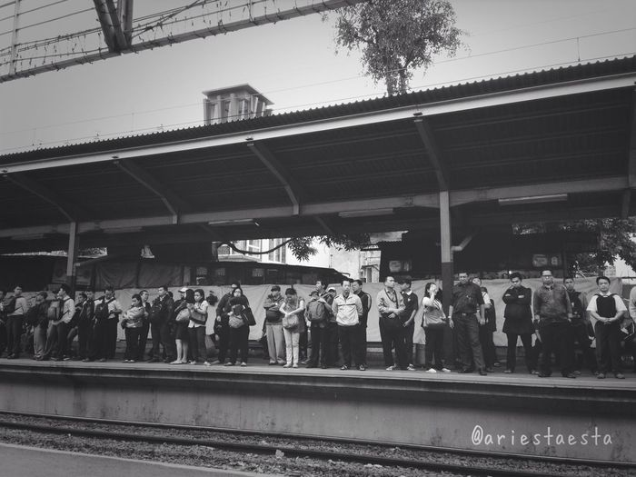 Waiting for train...