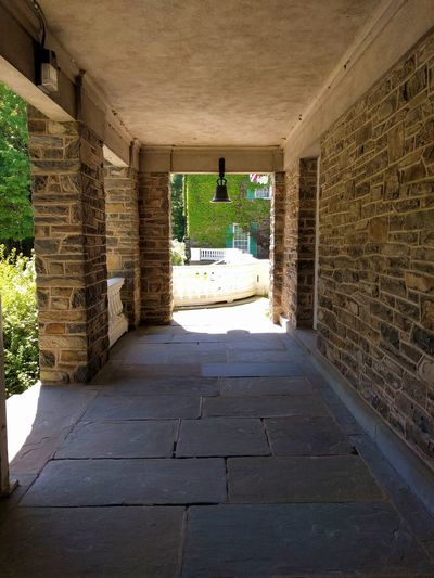 Patio at FDR -