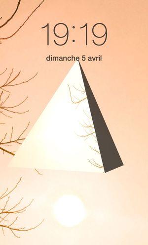 19H19... Clock Heure HEURE POLARIS Soleil Light Lumière CIELFIE