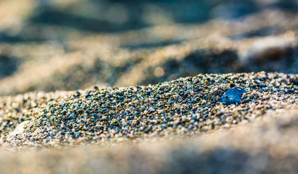 Closeup of Sand Dunes. Beach Beauty In Nature Closeup D7100 Day Dunes Landscape Macro Nature Nikon No People Ocean Outdoors Pebbles Sand Sea Seafront Seascape Selective Focus Shore Surface Level
