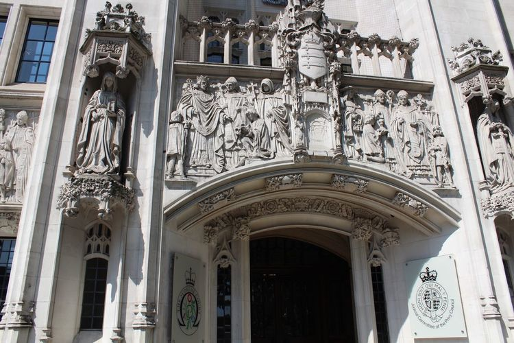 Supreme Court of Justice entrance Architecture Built Structure Building Exterior Day Building Travel Destinations Arch No People Low Angle View History