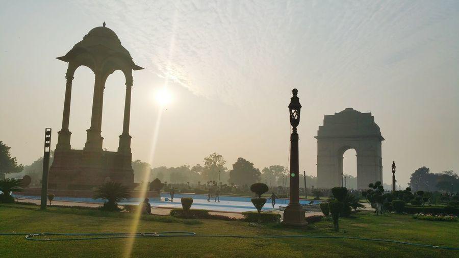 A visit to Indiagate Newdelhi -- Thehumancondition Incredible India IndiaTravelDiaries ♡ 12th Jan 2015