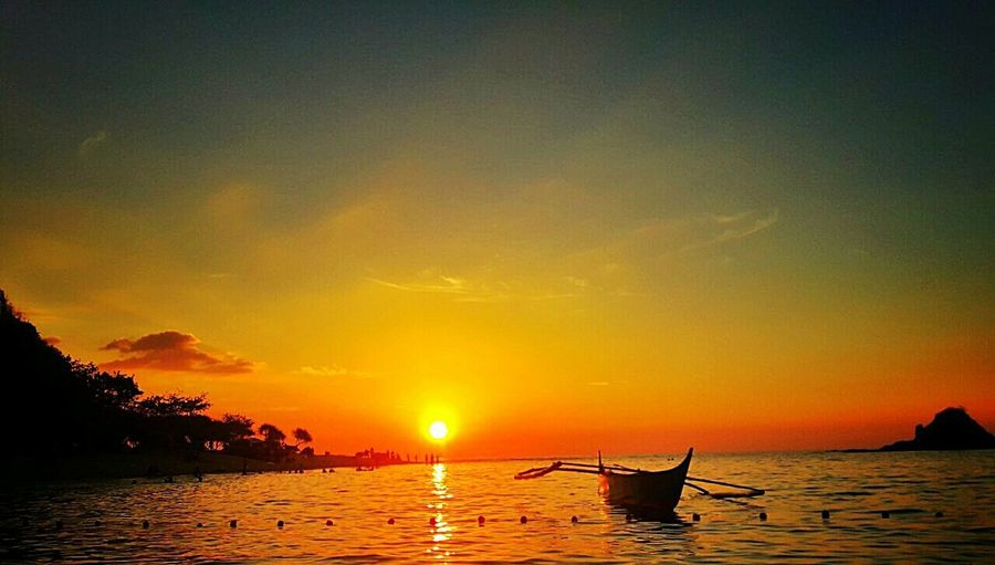 A heart warming sunset with you and me. Sunset Beauty In Nature Nature Outdoors Peaceful View First Eyeem Photo