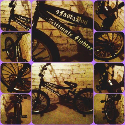 """Bmx  Bike In The Basement // """"Ultimate Fighters"""", 2fast4u"""