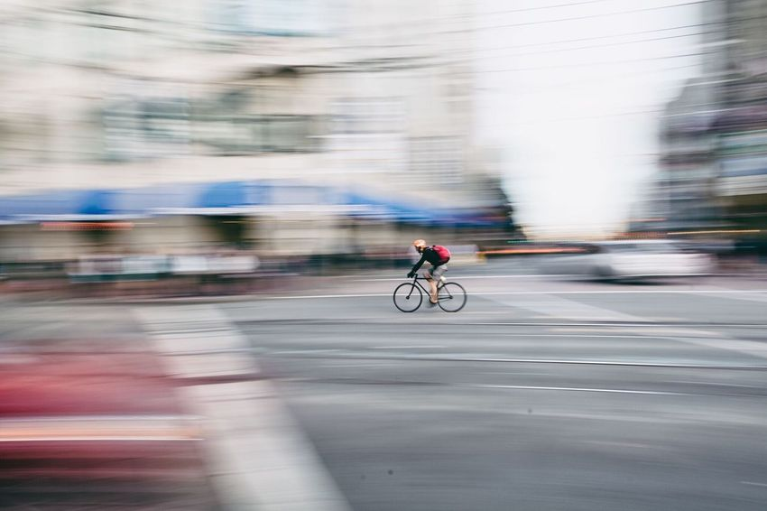 Capturing Movement Youcantflickwithus Check This Out San Francisco Bikingroute Panning Lovely Weather