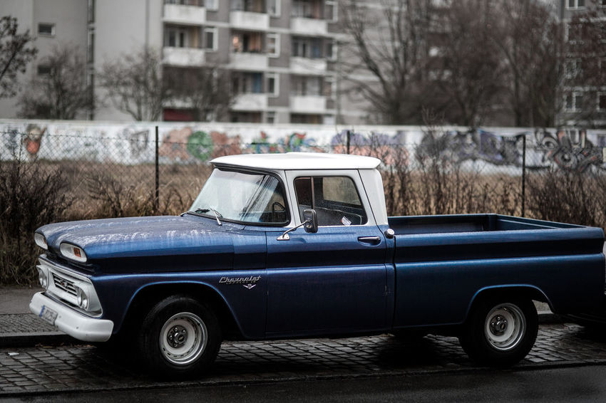 NavyBlue Old Cars Blue Car Car Chevrolet Chevrolet Apache Old Car Old Vehicle