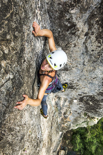 Adventure Adventure Time Alpinism Bold And Beautiful Brave Girl Brave Woman Catalonia Climber Climbing Climbing A Mountain Climbing Woman Dare To Be Different Dare To Climb Dare To Dream Emotions Extreme Sports Focused Happy Climber Rock Rock Woman She Climbed In On Her Own She Climbs Sports