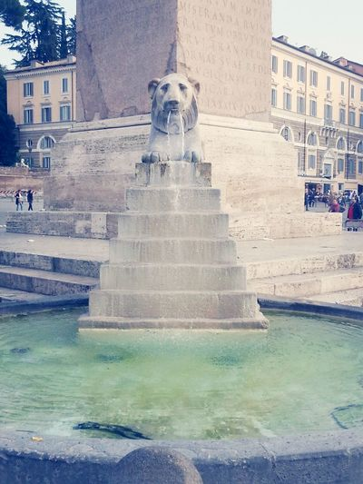 Rome Italy Street Art Photography Fountain Fun
