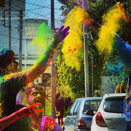 Photojaanic_holi Holi Holi2015 Gagans_photography Instaludhiana Indian_festival