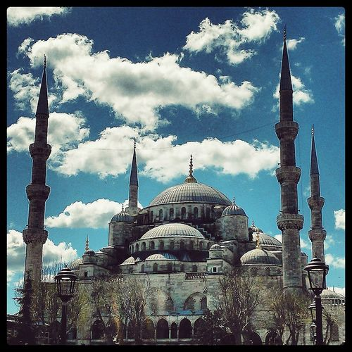 Istanbul Istanbul Turkey Tribute Clouds And Sky Mosque Cities_collection