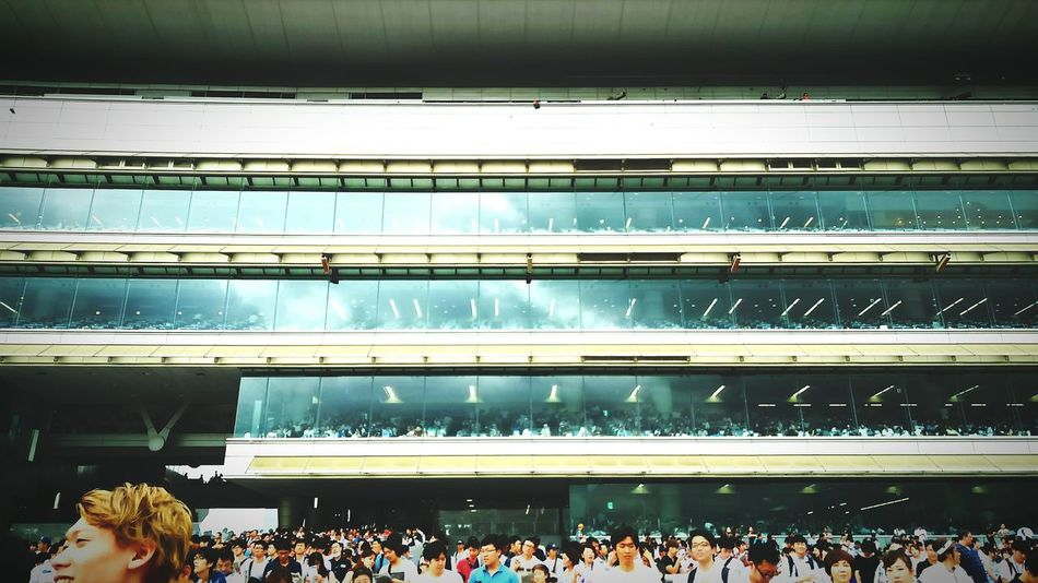 JRA Japan Horse Race Architecture Large Group Of People Crowd Arts Culture And Entertainment Performance People Skill  Audience Indoors  Adult Day Fan - Enthusiast Popular Music Concert Adults Only EyeEmNewHere