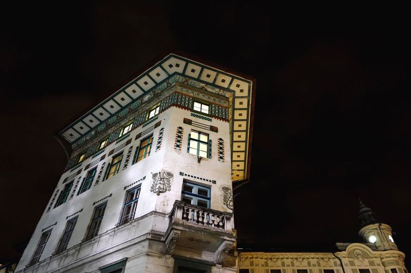 Excited to see Ljubljana for the first time in the day tomorrow. Building Exterior Architecture Night Illuminated Ljubljana Slovenia