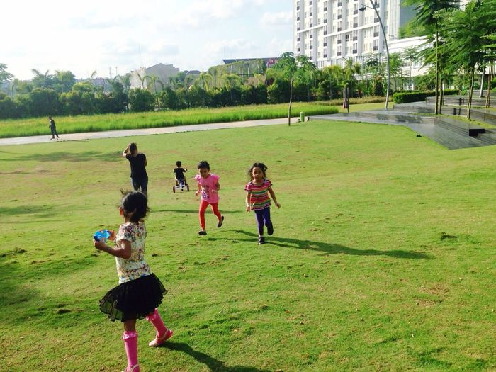 Playdate to Scientia Park, Alam Sutera. Playdate By ITag Kids By ITag Friends By ITag Impressive Mind By ITag A Place By ITag