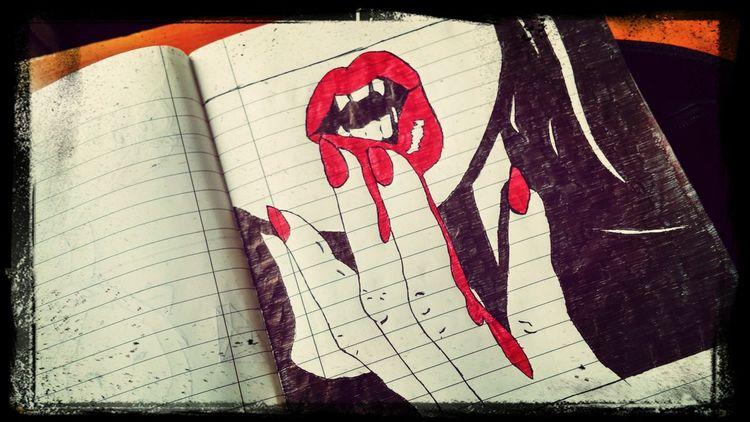 Cool Red Lips ❤ soo nice pic .. I love it <3