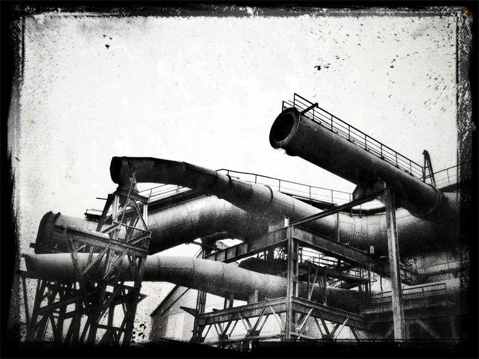 Blackandwhite Black And White Bochum Abandoned Places