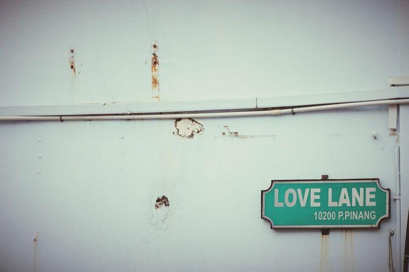 Malaysia Pulau Penang Georgetown Streetphotography Love Lane