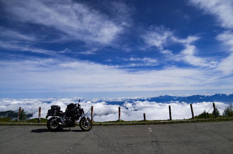 Sea Of Cloud Japam Japan Motorcycle Nagano Prefecture Nagano, Japan Utsukushigahara 美ヶ原高原 長野 長野県 雲海