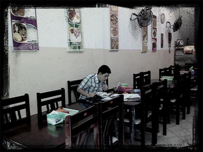 Lunch Alone...