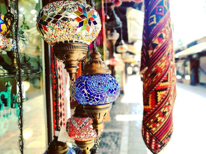 Sarajevo Bascarsija Oriental Oriental Style Orient Oriental Design Lamp Lamps Oriental Rug Oriental Lamp Hanging Retail  Fashion Store Choice For Sale Close-up Jewelry Store Souvenir Store Window Window Shopping Jeweller