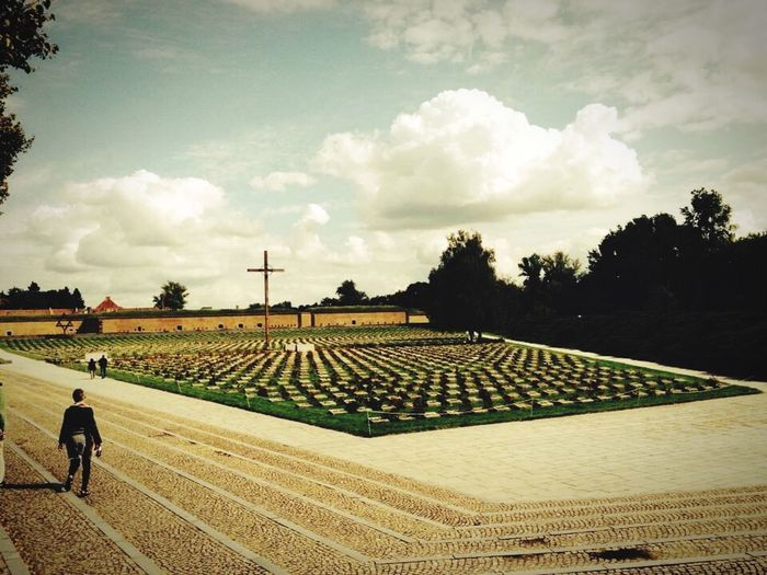 Teresin Concentrationcamp Monument Second War Graveyard Collection Comunism Travel Photography Guetto Chech Republic