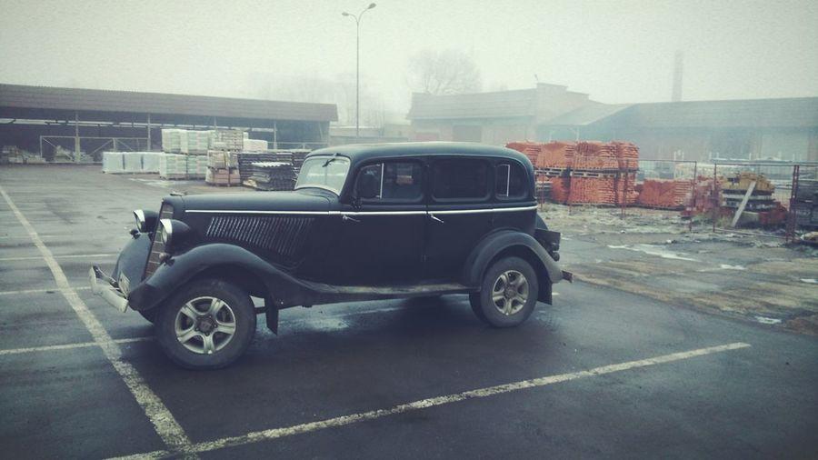 Retro car Car Retro Russia Vintage Automobile