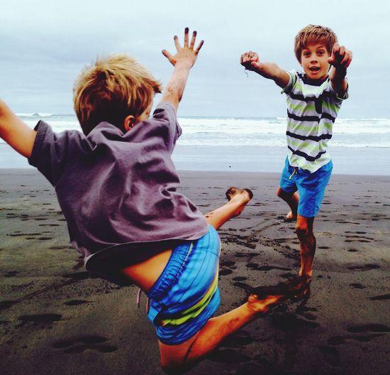 Beachphotography Action New Zealand life The Moment - 2014 EyeEm Awards