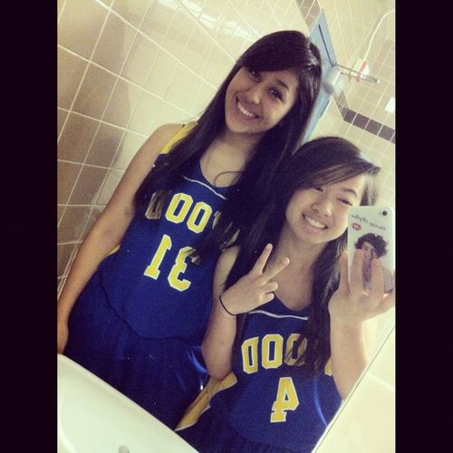 Aira & I on picture day.